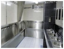 Standard or disabled toilets & bathrooms by c.a.s.i..