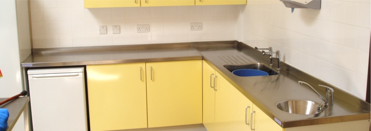 Powder Coated Steel Kitchens