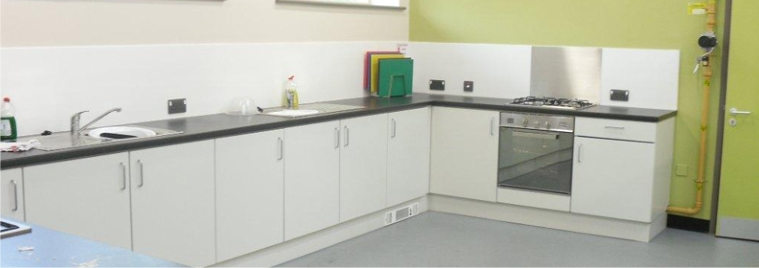 Powder Coated Steel Kitchen
